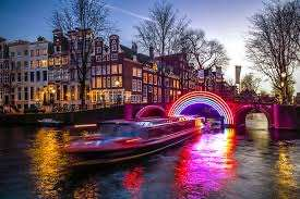2 Personen / 1 Nacht 4* Hotel am Wochenende Amsterdam Festival of Lights vom 2. Dezember 2021 bis 23. Januar 2022