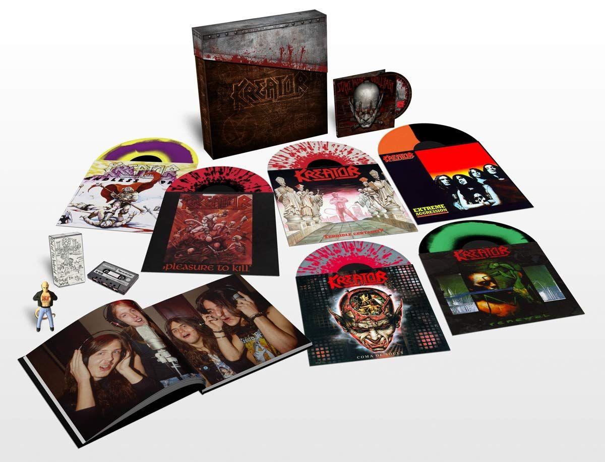 Kreator-Under the Guillotine (Deluxe Box Set) [Vinyl LP]