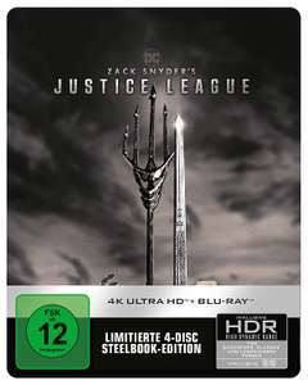 Thalia.de # Zack Snyder's Justice League Blu-ray Steelbook Edition für 21,99€ & 4K UHD für 35,19€