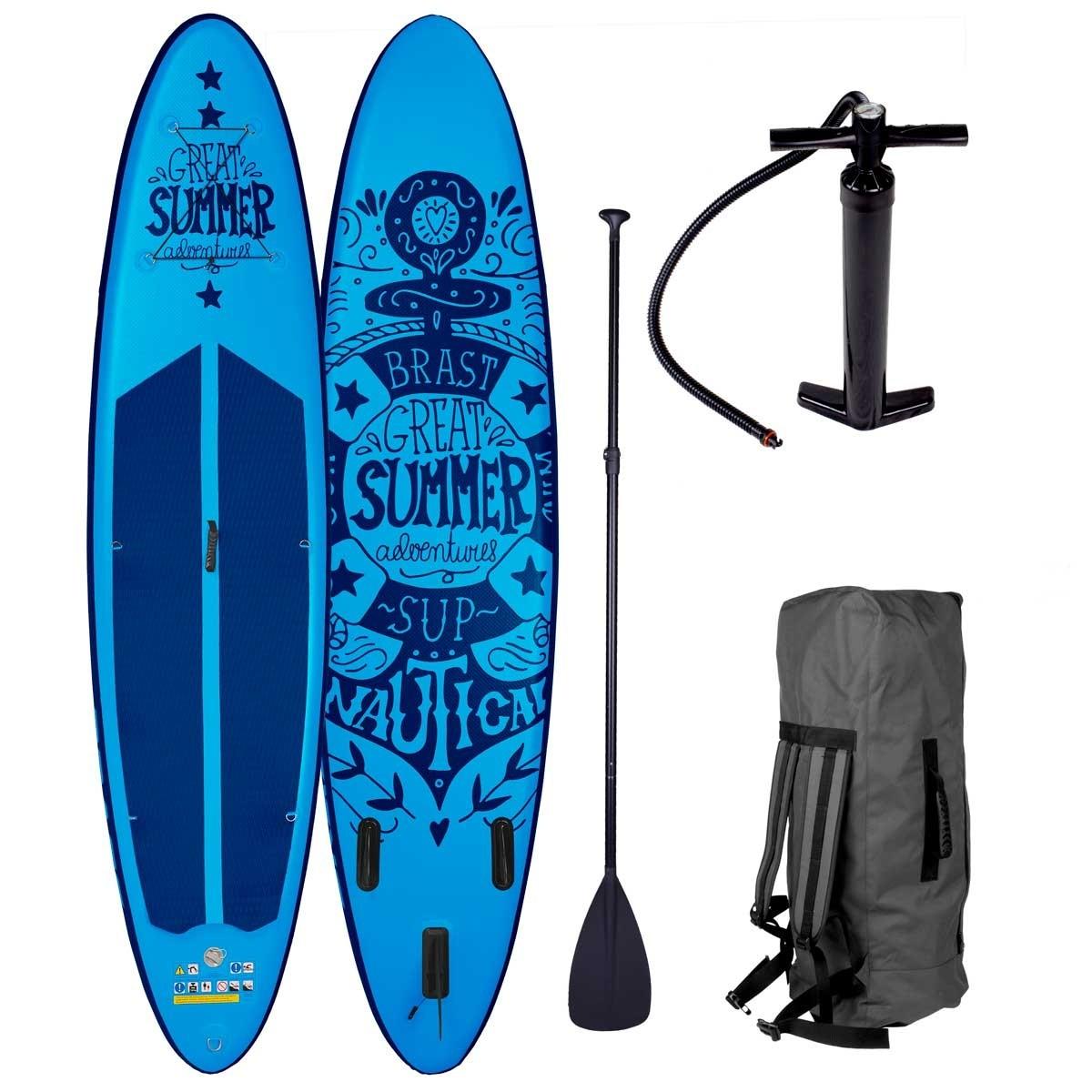 SUP-Board SUMMER 320cm 120kg-Tragkraft inkl. Zubehör