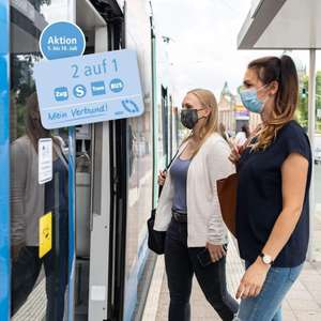 (lokal) 1 Ticket kaufen, 2 Personen fahren @ MDV Mitteldeutscher Verkehrsverbund