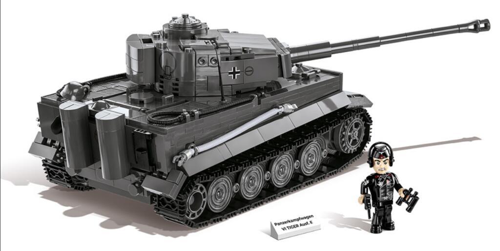 [Thalia] Vorbestellung: COBI 2538 - PZKPFW VI Ausf. E (Tiger 1) Klemmbausteine Bausatz 800 Teile