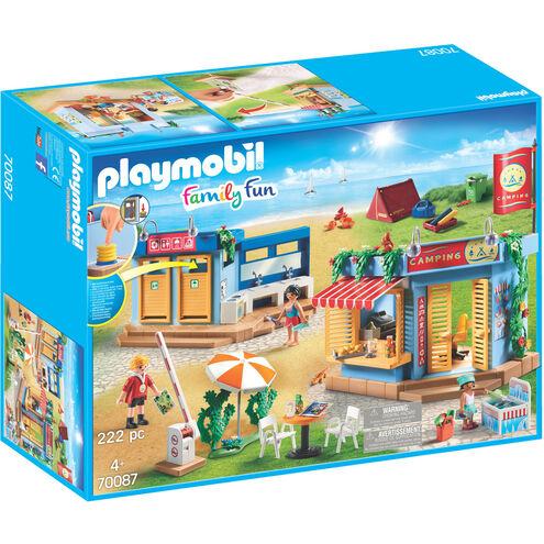 Bestpreis Playmobil 70087 großer Campingplatz (ohne VSK bei Filiallieferung oder Kundenkarte)