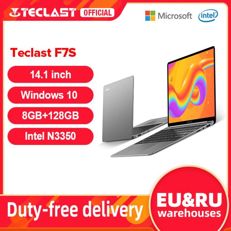 """Teclast F7S Notebook 14,1"""" IPS FHD, Intel N3350 4C, 8+128GB, 3800mAh, 1.5Kg Win10"""