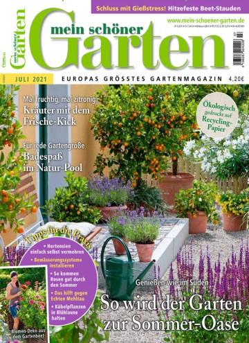 Mein schöner Garten Abo (12 Ausgaben) für 49,20 € mit 40 € Verrechnungsscheck (Keiner Werber nötig)