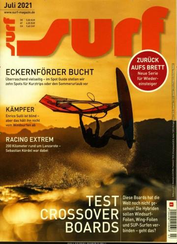 Surf Abo (10 Ausgaben) für 44 € mit 35 € Verrechnungsscheck (Keiner Werber nötig)