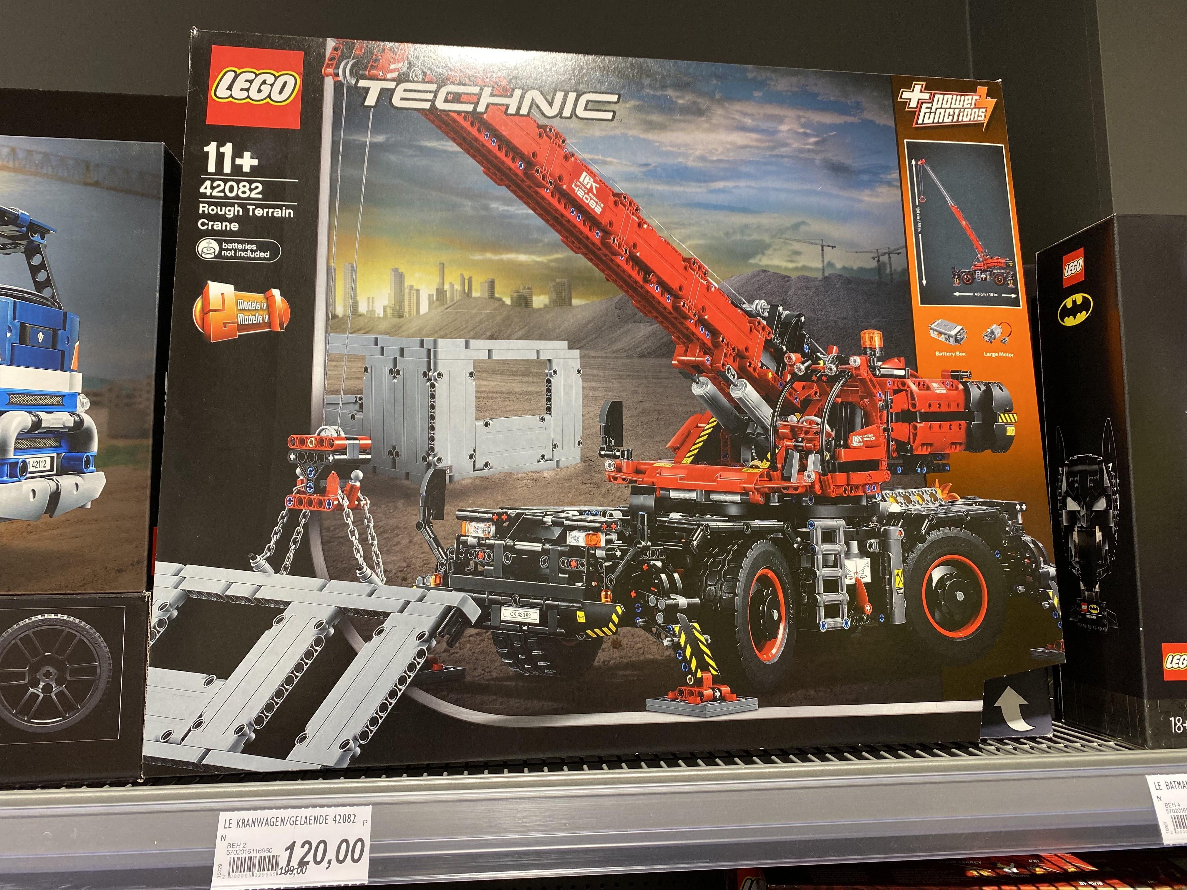 LOKAL Famila Güstrow Lego 42082 Geländegängiger Kranwagen *EOL* BESTPREIS?