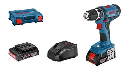 [Amazon] Bosch Professional 18V System Akku-Bohrschrauber GSR 18-2-LI (inkl. 2x2,0 Ah Akku, Ladegerät GAL 18 V-20, L-Case)