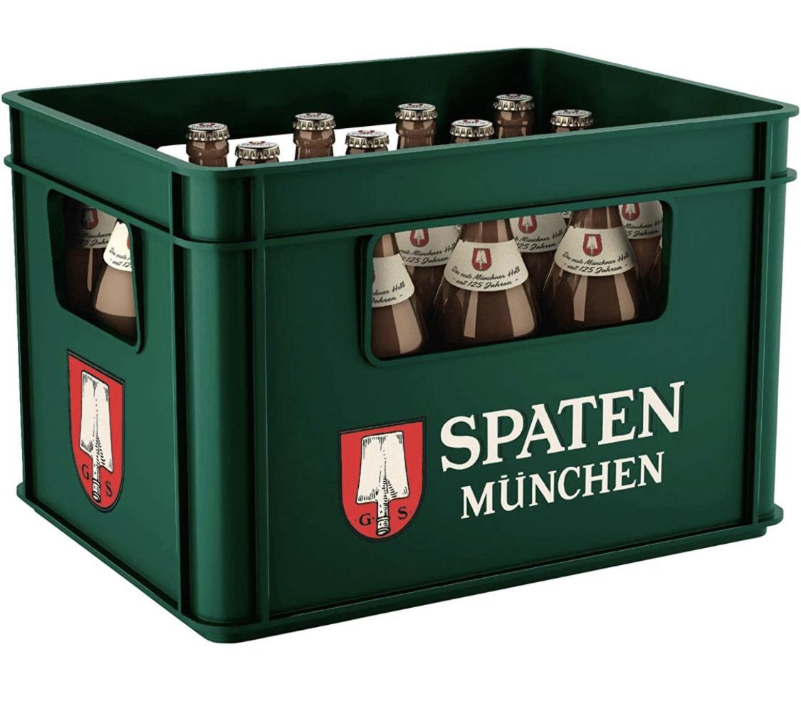 (Prime) SPATEN Münchner Hell Flaschenbier (20 x 0.5 l) im Kasten
