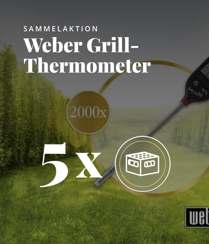 ( Bitburger App ) 5 Kästen Bitburger kaufen und gratis ein Weber Grillthermometer erhalten
