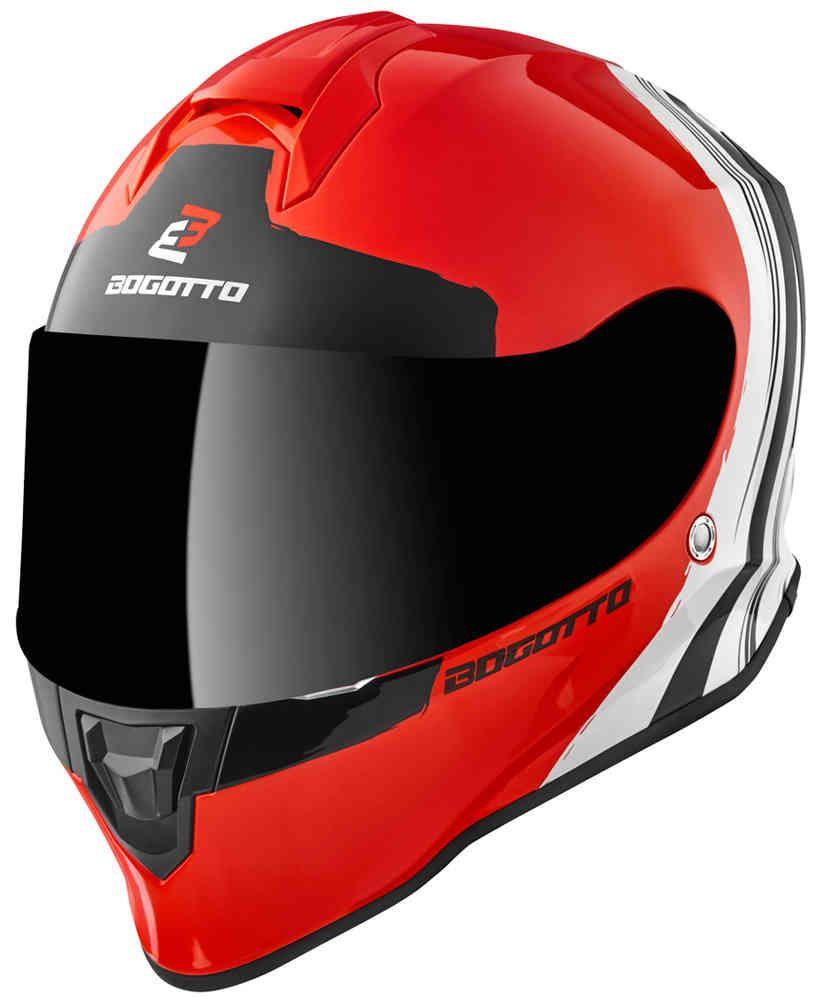 Bogotto V151 Wild-Ride Helm, Integralhelm Motorrad Roller (verschiedene Farben)