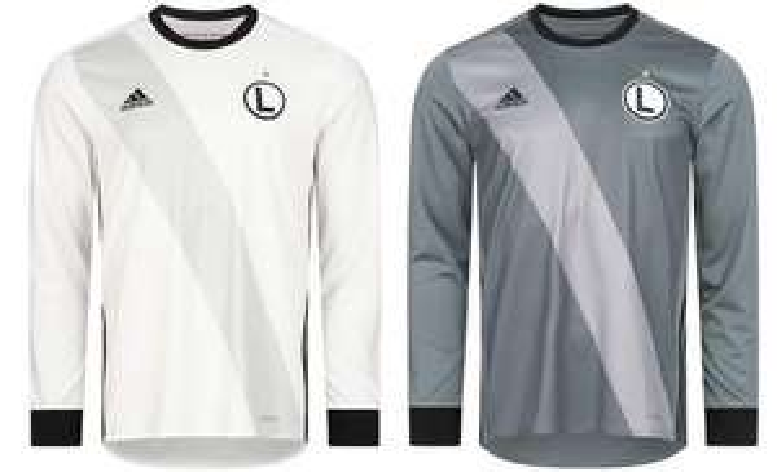 Adidas Legia Warschau Herren Langarm Trikot für 11,11€ + 3,95€ VSK (Heim- und Auswärtstrikot verfügbar, Größe XS - XL)