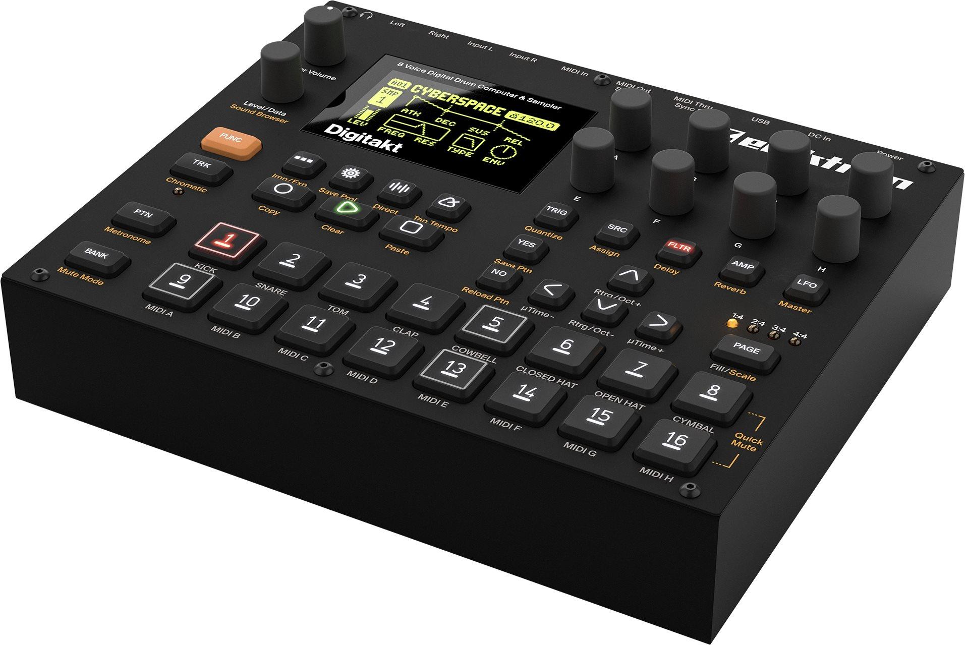 Elektron Digitakt, Drum Computer und Sampler [Musikinstrumente]