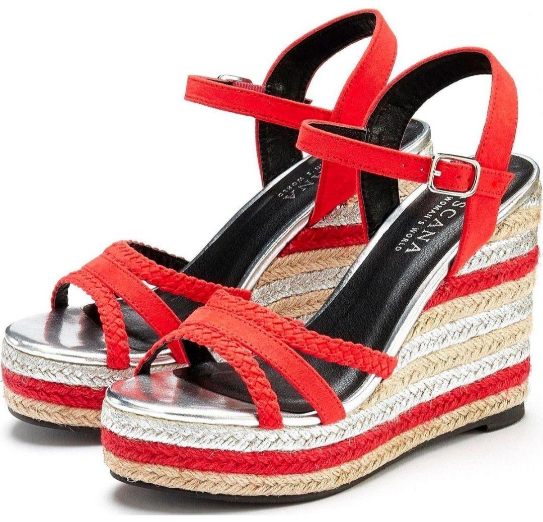 LASCANA High-Heel-Sandalette mit Endpreis 29 Euro mit Versand