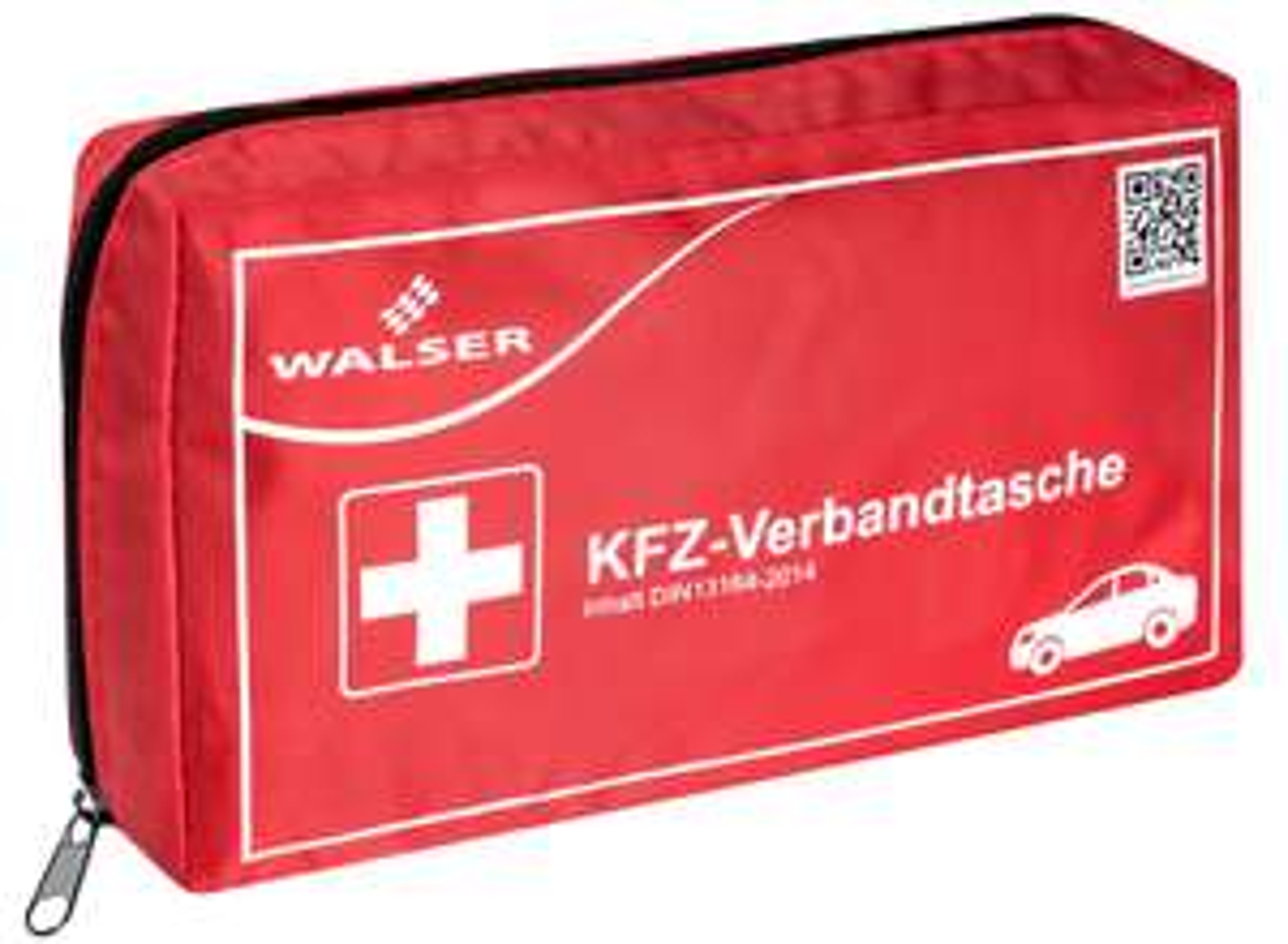 Walser KFZ-Verbandtasche nach DIN 13164-2014 (230 x 130 x 55mm) für 4,99 Euro [Kaufland]