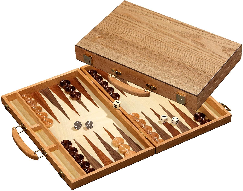 Philos, Backgammon Koffer, Kreta, medium