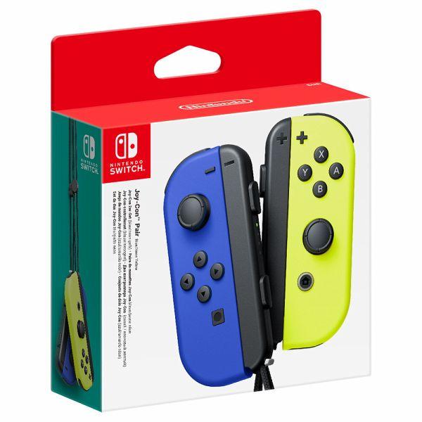 Nintendo Joy-Con 2er-Set Blau/Neon-Gelb