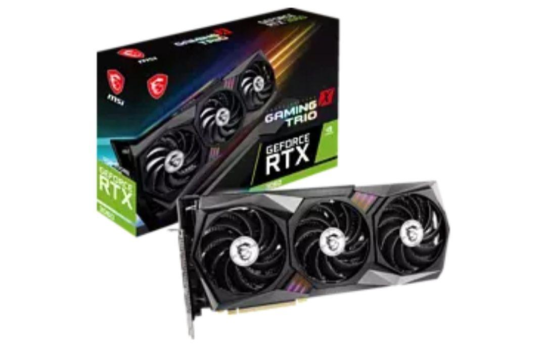 MSI GeForce RTX 3060 Gaming X TRIO 12G (V390-081R) (NVIDIA, Grafikkarte)