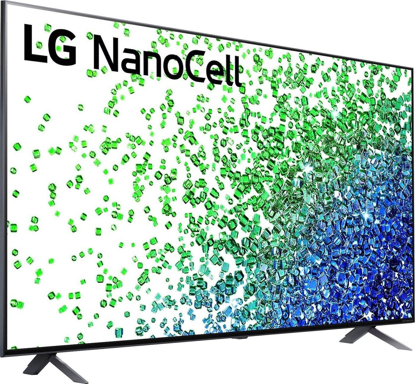 """LG 65NANO809PA Fernseher (65"""", UHD, IPS + """"NanoCell"""", 60Hz, 250cd/m², 4x HDMI 2.0, webOS 6.0)"""