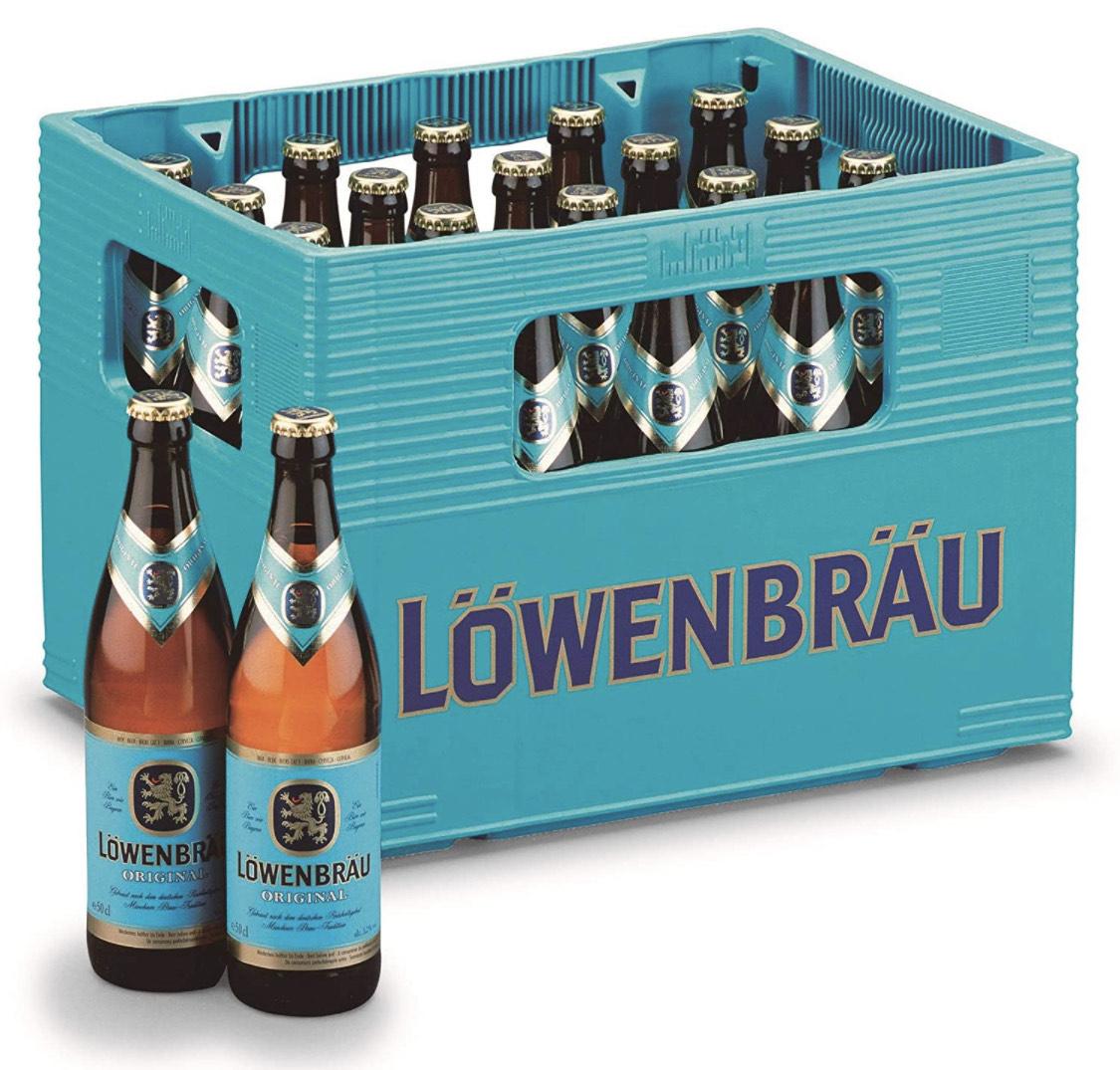 Löwenbräu Original Helles aus München (20 x 0.5 l) im Kasten