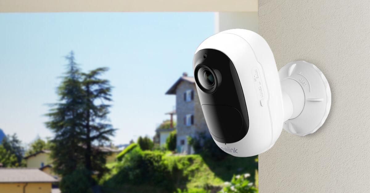 Reolink Argus 2E WLAN IP-Kamera ( 100% kabellos, akkubetrieb, Full HD, IP65, 2-Wege-Audio )