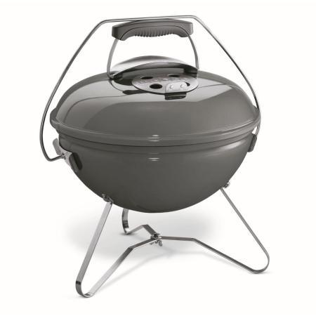 Weber Smokey Joe Premium 37cm Holzkohlegrill (Warm Grey)