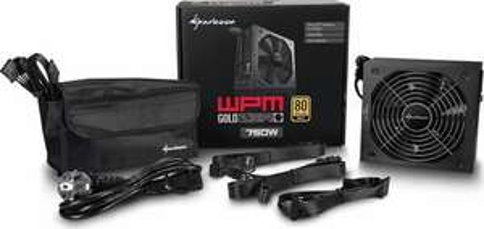 Sharkoon WPM Gold ZERO 80 Plus Gold 750 Watt ATX Netzteil semimodular für 27,19€ (Future X)