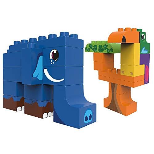 BiOBUDDi BB-0106 - Bauset Dschungeltiere Elefant und Tukan 27 Klemmbausteine - nicht auf Lager/Vorbestellung Amazon Prime
