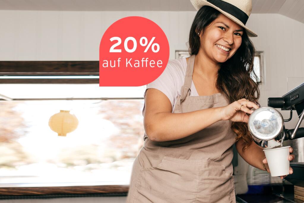 Gutschein auf Kaffee bei Tchibo Coffee Service