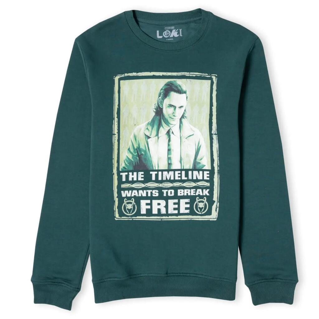 Marvel Loki Timeline Unisex Sweatshirt (Größen S bis XXL)