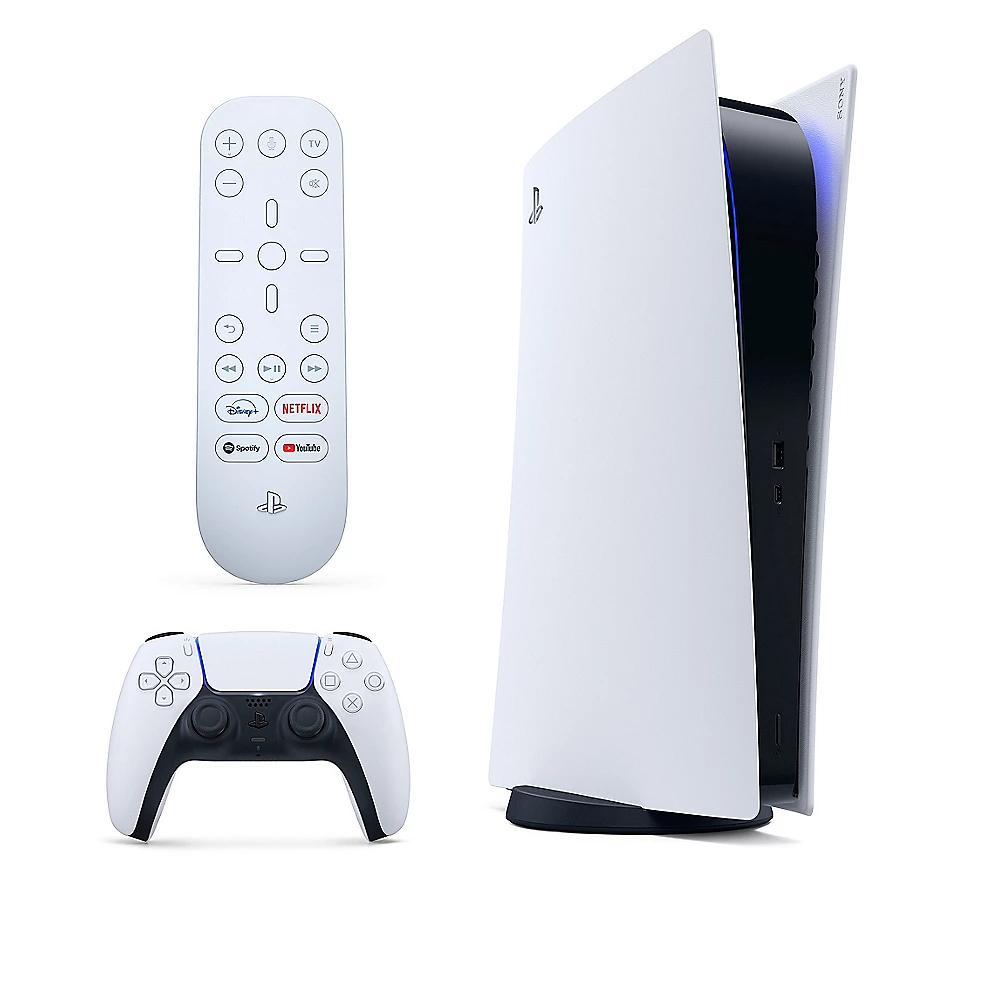 Sony PlayStation 5 - Digital Edition Spielekonsole inkl. Medienfernbedienung