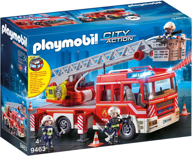 [Amazon Prime] Playmobil 9463 City Action Feuerwehr Leiterfahrzeug