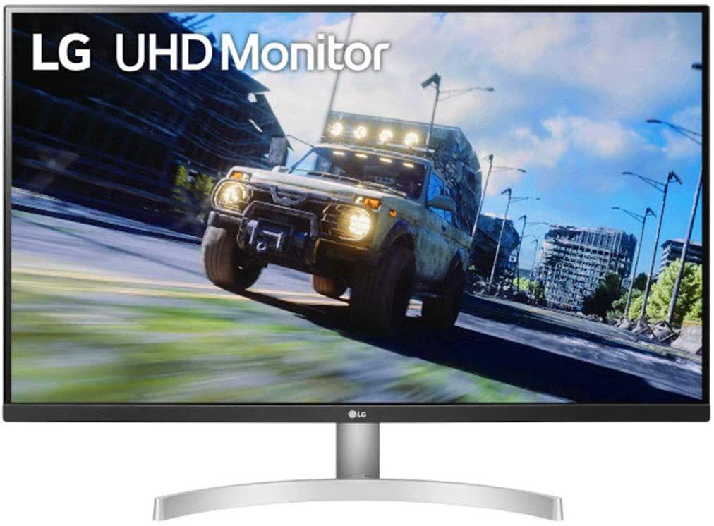"""LG Ultrafine 32UN500-W 31,5"""" 4K UHD-Monitor (VA, 60 Hz, adaptive Sync, AMD FreeSync, 3840x2160, HDMI, DisplayPort, 4 ms, HDR10, VESA)"""