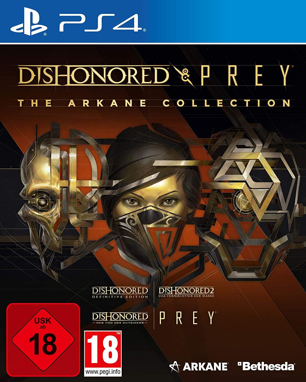 The Arkane Collection: Dishonored & Prey (PS4) für 19,99€ oder 14,99€ mit Sparguthaben (Otto/Lieferflat)