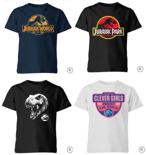 Jurassic Park Kinder-T-Shirts je 9,99€ + gratis Versand (Größen: 98 bis 152)