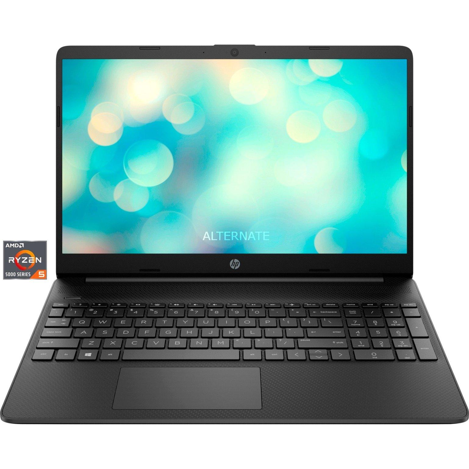 "HP 15s-eq2152ng Notebook 15,6"" IPS FHD, Ryzen 5500U 6C/12T, 8+256GB, 41 Wh, FreeDos[eff. 424€]"