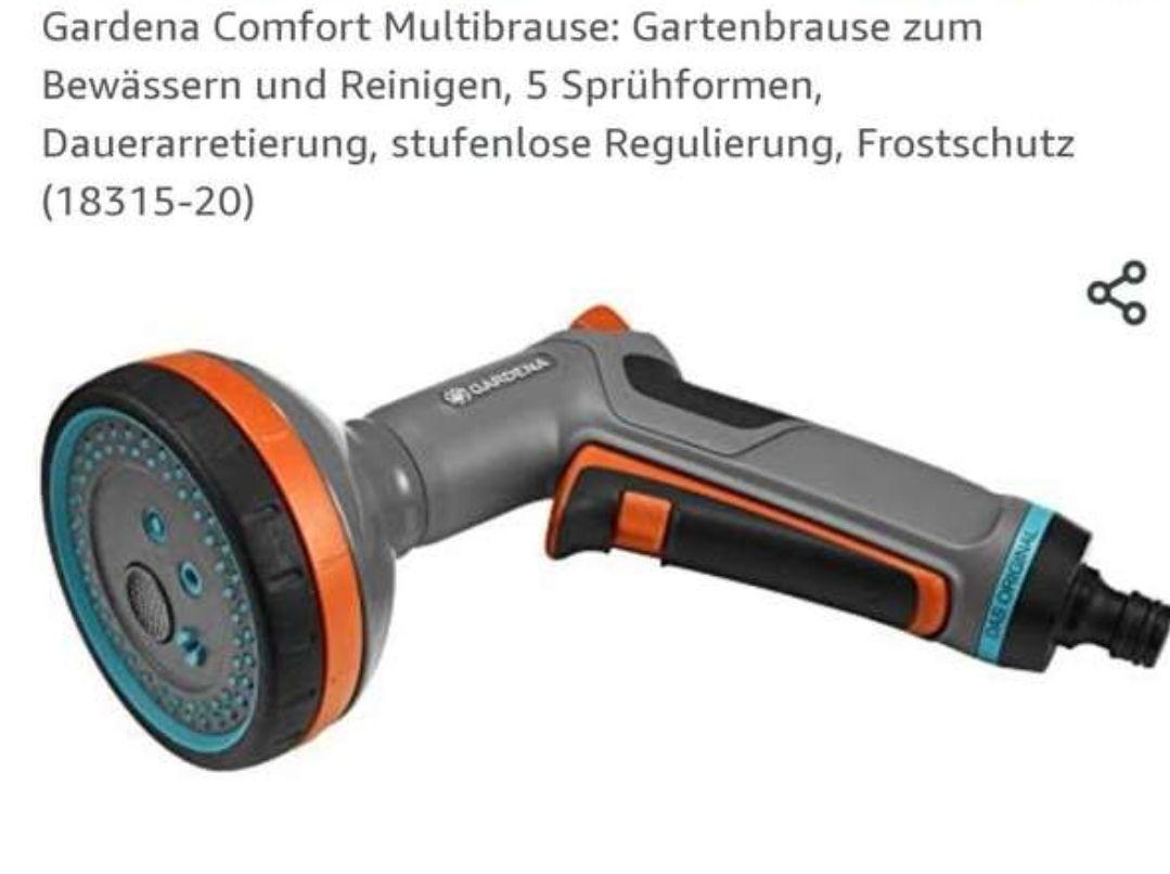 Gardena Comfort Multibrause (18315-20) *Amazon Prime*