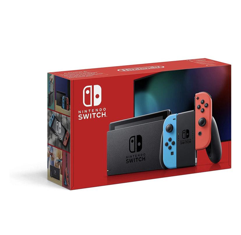 [Amazon FR] NINTENDO Switch Neon-Rot/Neon-Blau