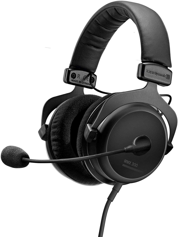 Beyerdynamic MMX 300 (2. Generation) Over-Ear-Headset (geschlossen, dynamisch, Klinke, Mikrofon, 5 - 35.000 Hz, für Playstation, Xbox & PC)
