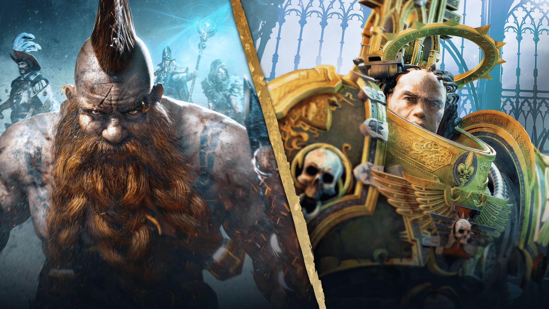 Playstation Store   Warhammer Pack: Hack and Slash (40,000: Inquisitor u. Chaosbane) PS4// Warhammer: Chaosbane Slayer Edition PS4/PS5