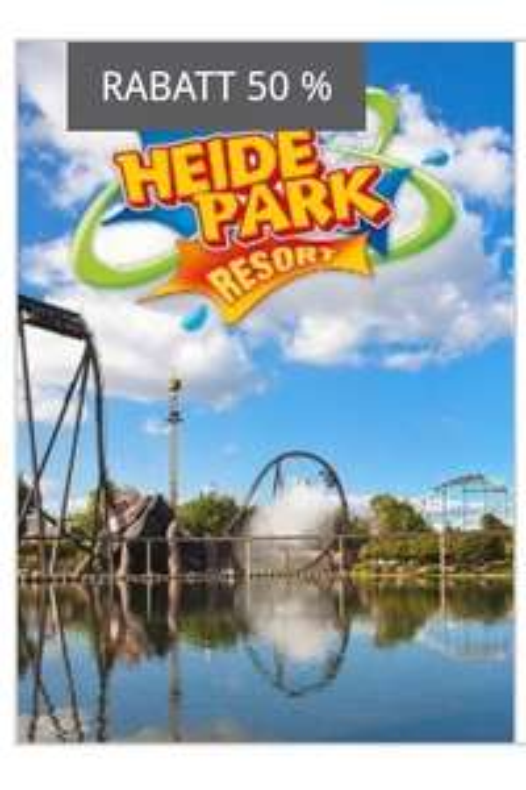 Heidepark Soltau / Legoland 2für1 Tagesticket 50% @atu