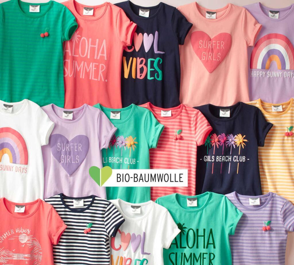 Summer Sale bei [Ernstings Family] bis zu 50% Rabatt auf Kindermode