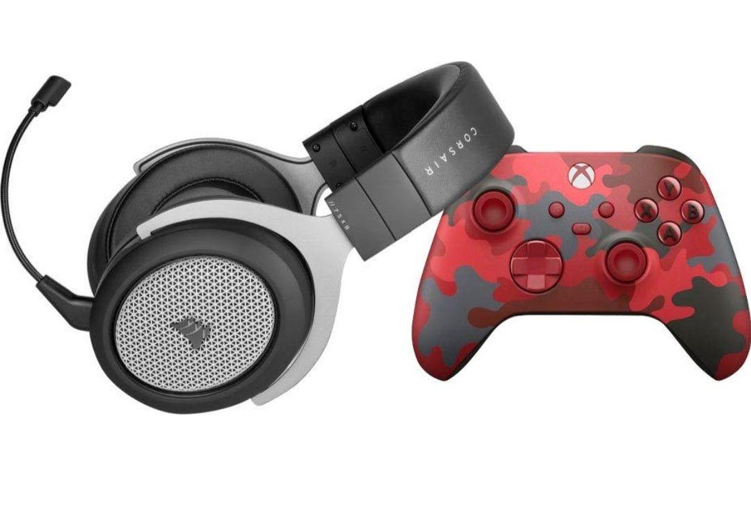 Corsair HS75 XB Wireless Gaming-Headset + Xbox Wireless Controller Daystrike Camo