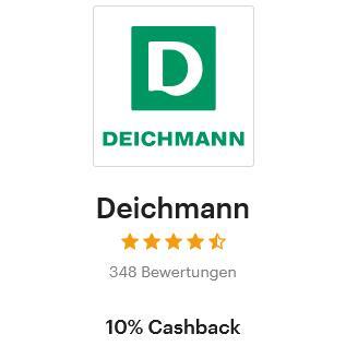 [Shoop] Deichmann 10% Cashback + 50% Rabatt Aktion (zwei Sale Artikel kaufen und der günstigere erhält 50%)