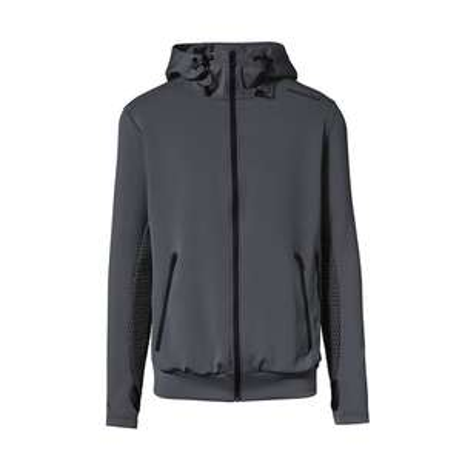 PORSCHE DESIGN x Puma Hooded Sweat Jacket asphalt (edit: nur noch Größe L)