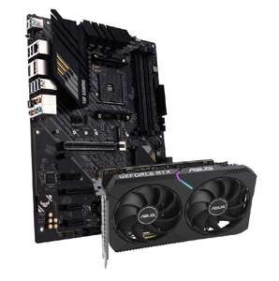 Asus DUAL Geforce RTX 3060 OC 12G + ASUS TUF Gaming B550-Plus
