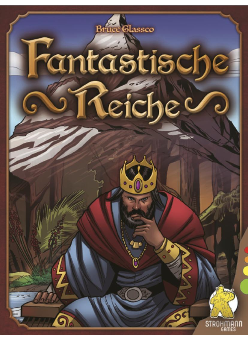Fantastische Reiche - Kartenspiel - nominiert zum Kennerspiel des Jahres 2021 [Kult Club]