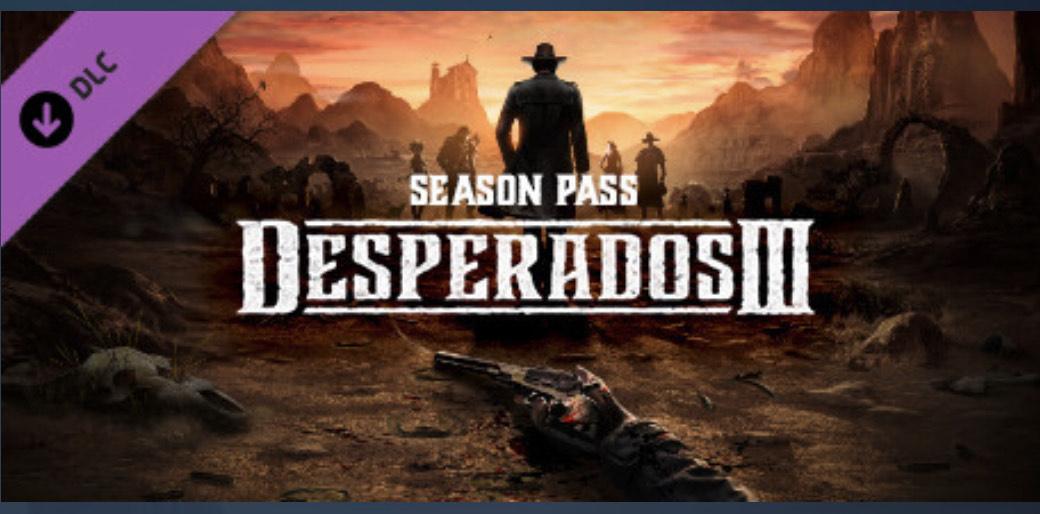 Desperados III Season Pass (Steam)