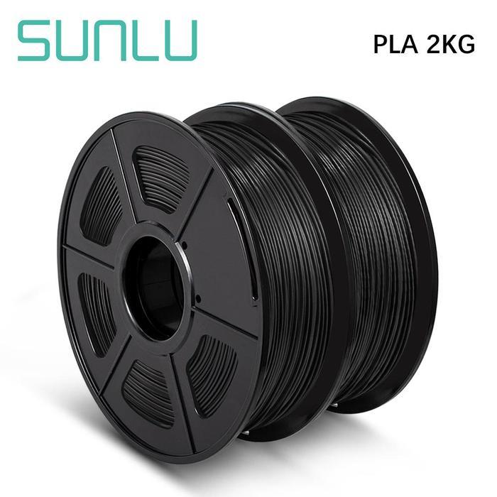 Sunlu PLA Filament 2 Rollen, verschiedene Farben für 11,53 EUR pro Rolle / kg