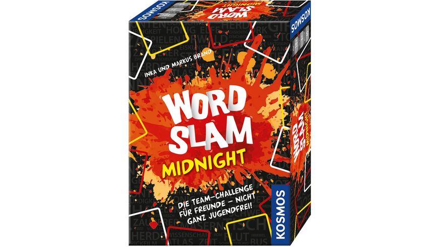 Brettspiel Word Slam Midnight by Drogerie Müller, nur Abholung